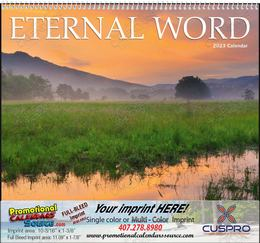 Eternal Word calendar with Pre-Planning Sheet for Funeral Homes, Spiral