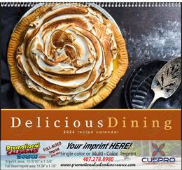 Delicious Dining Promotional Calendar  Spiral