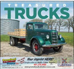 Treasured Trucks - Promotional Calendar  Spiral