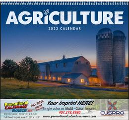 Agriculture Wall Calendar Spiral Binding