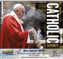 Catholic Spirit Calendar - Spiral Binding