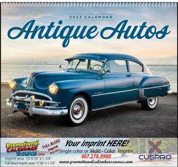 Antique Autos - Promotional Calendar  Spiral