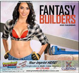 Fantasy Builders - Promotional Calendar  Spiral