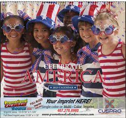 Celebrate America Promotional Calendar Spiral