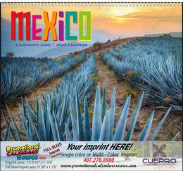 Mexico - Promotional Calendar  Spiral