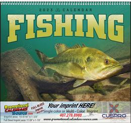 Fishing - Promotional Calendar  Spiral