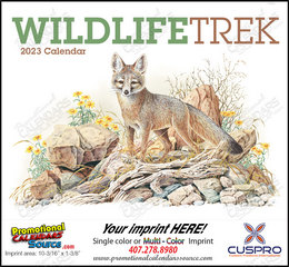 Wildlife Trek Promotional Calendar  Stapled