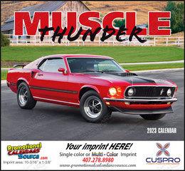 Muscle Thunder Promotional Calendar  Stapled