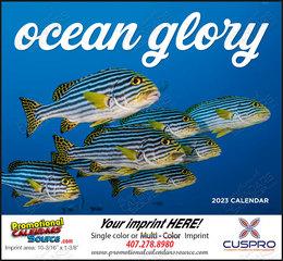 Ocean Glory Promotional Calendar  Stapled