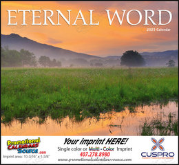 Eternal Word Bible Verses Religious Calendar without Funeral Planner