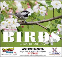 Birds of North America Calendar Stitched Binding