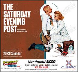 The Saturday Evening Post Promotional Calendar  Stapled