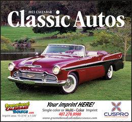 Classic Cars of the 40s, 50s, 60s  Calendar, 2019, Stapled