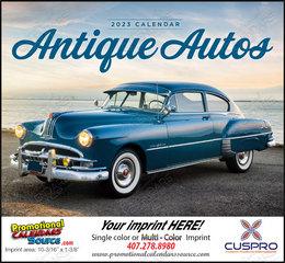 Antique Autos Promotional Calendar  Stapled