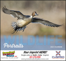 Wildlife Portraits Promotional Calendar  Stapled