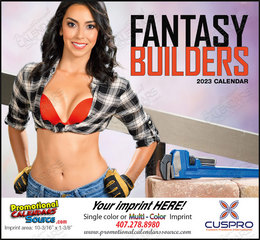 Fantasy Builders - Promotional Calendar  Stapled