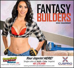 Fantasy Builders - Promotional Calendar  Stapled