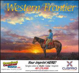 Western Frontier Calendar Stapled