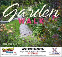 Garden Walk Calendar Stapled
