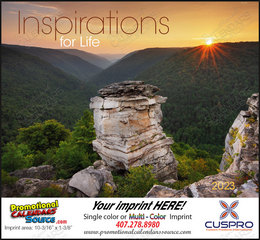 Inspirations for Life Calendar  Stapled