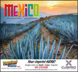Mexico Promotional Calendar  Stapled