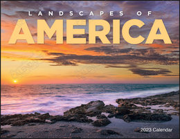 Landscapes of America Promotional Calendar Window Cut-Out