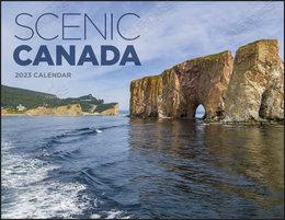 Window Cut-Out Scenic Canada Calendar, Size 11x17