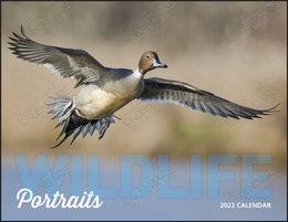 Wildlife Portraits Calendar with Window Cutout Ad