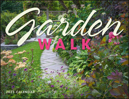 Garden Walk Wall Calendar, Window Ad