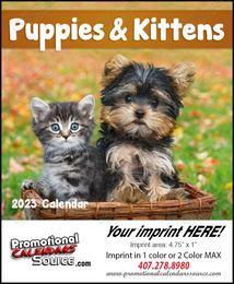 Puppies & Kittens Mini Promotional Calendar