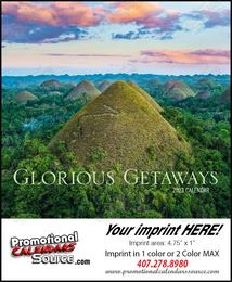 Glorious Getaways Mini Promotional Calendar