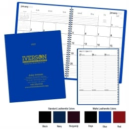 Monthly & Weekly Planner Promotional Calendar