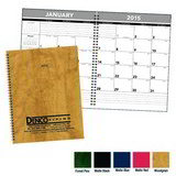 Hardcover Monthly Planner Promotional Calendar