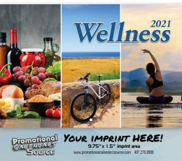 Wellness Wall Calendar  - Stapled
