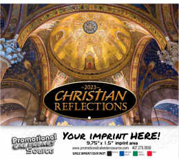 Christian Reflections Wall Calendar  - Stapled