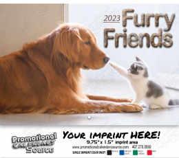 Cats & Dogs Wall Calendar  - Stapled
