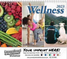 Wellness Wall Calendar  - Spiral