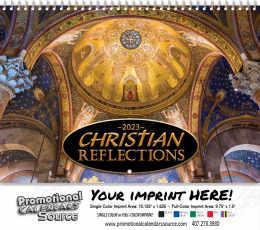 Christian Reflections Wall Calendar  - Spiral