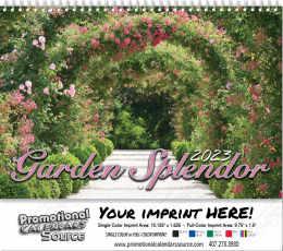 Garden Splendor Wall Calendar  - Spiral