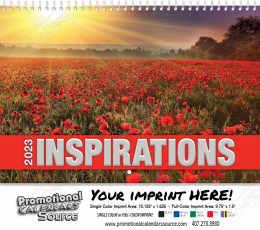 Inspirations  Wall Calendar  Spiral