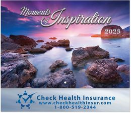 Moments of Inspiration Wall Calendar Stapled