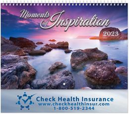 Moments of Inspirations Calendar with Spiral Binding