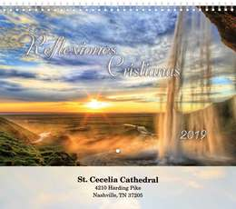 Christian Reflections - Reflectiones Cristianas Wall Calendar  - Spiral, Spanish