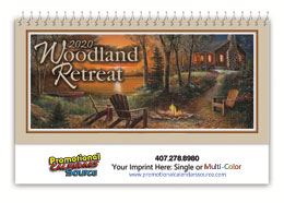 Woodland Retreats Desk Calendar