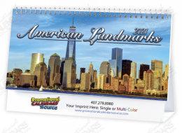 Historic Landmarks Desktop Calendar