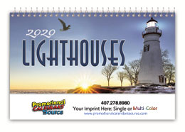 Promo Desk Calendar Lighthouses