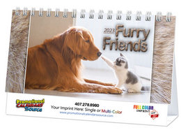 Cats & Dogs Promotional Desk Calendar