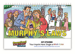 Murphy s Law Promotional Desk Calendar