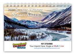 Scenes Across America Deluxe Desk Promotional Calendar  - Scenic