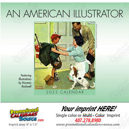 An American Illustrator Promotional Calendar